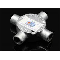 """3/4""""or 1""""  Channel Inspection Elbow Tee Circular malleable iron Junction Box For Rigid Conduit Manufactures"""