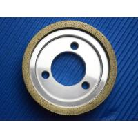 Metal bond Bowl Shaped Diamond Grinding Wheel for Glass edge machine Manufactures