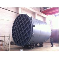 China High Capacity Fiberglass Chemical Storage Tanks , Acid Storage Containers Rust Proof on sale