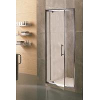 Swing Small Glass Shower Enclosures 6mm Tempered Clear Aluminum Alloy Framed Manufactures