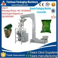 Automatic machine for packaging suitable 1-5kg all granular,almondsSuch as puffed food, opcorn, seeds and oatmeal etc. Manufactures