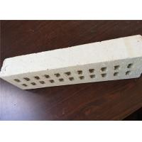 China Pure White Multi Holes Perforated Clay Bricks Anti - Freeze 35% Void Ratio on sale
