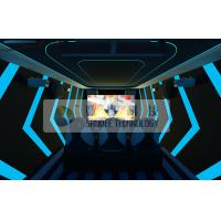 Thrilling Mobile Extreme Digital Movie Theater 7D Motion Simulators Experience Manufactures