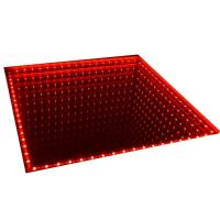 Quality RGB 3D Infinity Mirror LED Light Dance Floor For Club Disco Night Club for sale