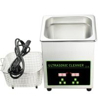 Digital Benchtop Dental Ultrasonic Cleaner Used Jewelry Denture Watch Eyeglasses 2L 40kHz