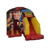 Toy story themed inflatable combo disney woody inflatable small combo for children with digital printing Manufactures