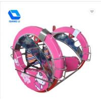 Simple Operation Kids Carnival Rides , Mini Leswing Happy Car Color Customized Manufactures