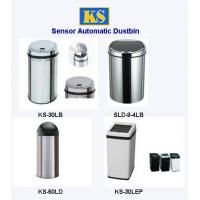 Automatic Trash Can,Stainless Steel Garbage Bin,Infrared Dustbin,Garbage Can,Trash Container