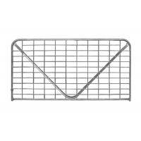 Collared 'V' Stay Steel Farm Gates Zinc Based Coating Completely Covers Pipe Welds Manufactures