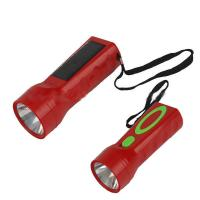 Anfly 1 super bright LED rechargeable solar powered emergency flashlight Manufactures