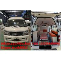 Factory direct sale high quality and competitive price JINBEI gasoline transiting ambulance vehicle, ICU ambulance Manufactures