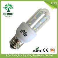 3W - 32W 4u B22 LED Corn Bulb Daylight Warm White 215 lm SGS / ISO9001 Manufactures