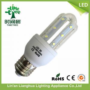 3W - 32W 4u B22 LED Corn Bulb Daylight Warm White 215 lm SGS / ISO9001 Manufactures