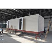 Quality Prefab Mobile Cabin House / Steel Frame Prefab Modular Homes For Guard House for sale