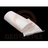 3 - 4m Ground Fabric For Driveways , Multifilament Geotextile Road Underlayment Manufactures