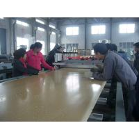 China CE Approved Board Foam Making Machine For Decration / Doors / Windows / Furniture on sale