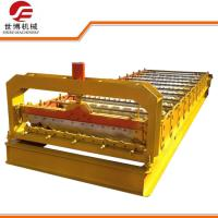 China 1096 Type Steel Roof Roll Forming Machine Easy Operate Roof Tile Forming Machine on sale