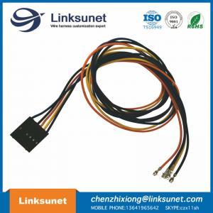 MOLEX 50 - 57 - 9405 SL Crimp Housing , Single Row , Male Female Automobile Wire Harness / 2.54mm Pitch Manufactures