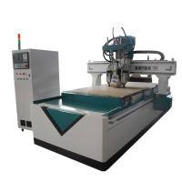 Air Cooling Spindle Carved CNC Router Wood Carving Machine Six Zones Design Manufactures