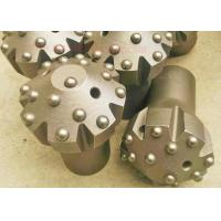 Tungsten Carbide Reaming Drill Bits , Thread Domed Reaming Button Bits Manufactures