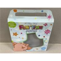 China CMYK Cardboard Toy Boxes For Baby Apron Packing Gloss / Matte Lamination on sale