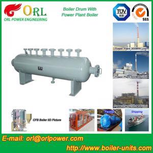 30 Ton Power Station Boiler Mud Drum Sterilization ORL Power SGS Standard Manufactures