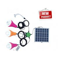 Portable Solar Camping Lights/Solar Power System with remote control Manufactures