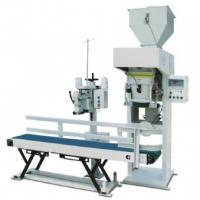 Gas Drive Pellet Bagging Machine , Quantitative Packing Weigher 10kg-70kg Manufactures