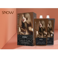 China Ammonia Free Beige Blonde Hair Color Natural Herbal Hair Dye 450ml*2  For Wholesale on sale