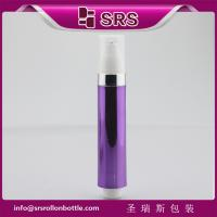 SRS 10ml plastic empty purple color eye serum airless roll on bottle Manufactures