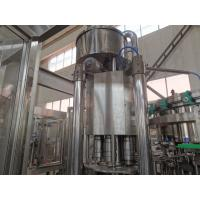 Small Scale Industries Carbonated Beverage Filling Machine 7kw PLC Control