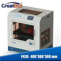 Quality PEEK Professional 3d Printer 400*300*300 Mm Forming Size With Dual Extruders for sale
