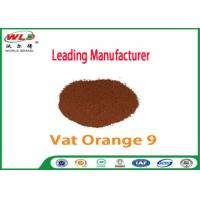 Pure Cotton Indanthrene Dye C I Vat Orange 9 Vat Golden Orange G Manufactures