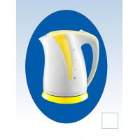 360 Degree 2000w Electric Cordless Kettle With Yellow Plastic Parts Manufactures