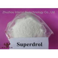Superdrol Powder Growth Hormone Steroid , Methyldrostanolone For Muscle Enhancement Manufactures