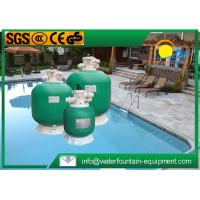High Performance Fibreglass Sand Filter , Top Mount Sand Filter For Swimming Pool Manufactures