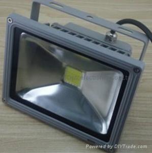 China High Power 10W 2600 - 3700K 115 * 90 * 90MM Energy Saving Outdoor LED Floodlighting on sale