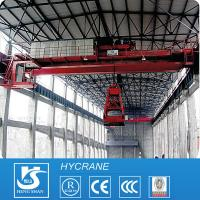 High quality grab bucket bridge crane manufacture overhead crane with heavy lifting trolley Manufactures