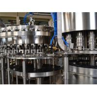 China Electric Carbonated Drink Filling Machine Equipment for Beverage Juice Packing Machine on sale