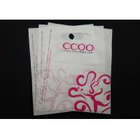 Clothing Store Die Cut Handle Plastic Bags Waterproof 100% Recyclable Material Manufactures