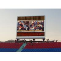 China High Brightness Outdoor Advertising LED Screen / P10 Led Screen Billboard on sale