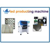 Quality 380AC 50HZ Smd Led Making Mounter Pick And Place Machine 10 Heads Vision Camera for sale