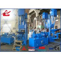 630 Ton Aluminum Metal Chip Briquetter , Briquette Making Machine For Sawdust Metal Manufactures