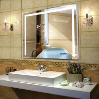 Popular hotel bath LED mirror lighted bathroom mirror Manufactures