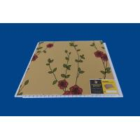 Artistic Indoor PVC Wall Panel Luxury Flower Laminate Wall Sheets Manufactures