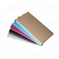 8000mAh Book Shape Slim Portable Power Bank, Aluminium Alloy Polymer Battery Phone Charger Manufactures