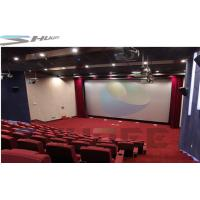 Customized 36 / 50 / 120 Persons 4D Movie Theater Cinema With Motion Theater System Manufactures