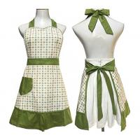 Lovely Retro Country Cute Aprons With Pockets Waitress Embroidered Pastoral Style Manufactures