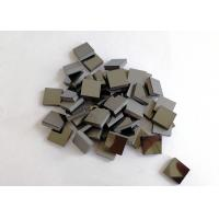 Square Rectangle PCD Cutting Tool Blanks For Sandstone Marble Granite Cutting Saw Manufactures