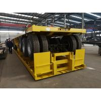 China High quality 40 ft 12m 3 axles flat bed straight frame trailer on sale